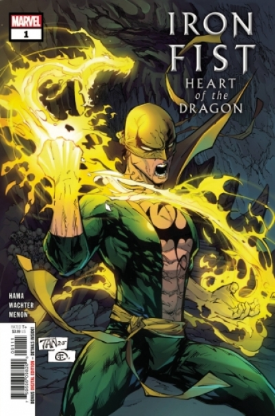 Iron Fist: Heart of the Dragon # 1